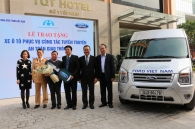 ford-viet-nam-trao-tang-xe-transit-cho-so-giao-thong-tinh-bac-can