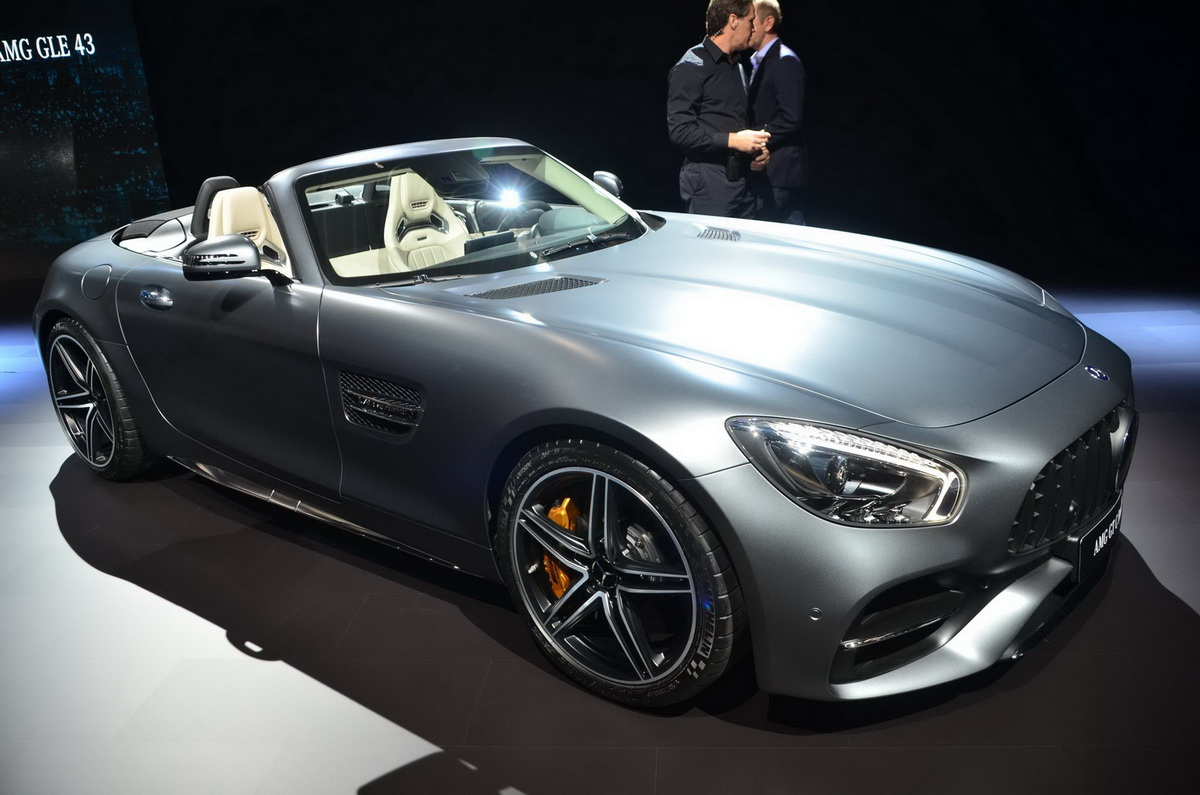 Luxury LA Auto Show 2016 Chim Ngng QuotMnh Thquot MercedesAMG