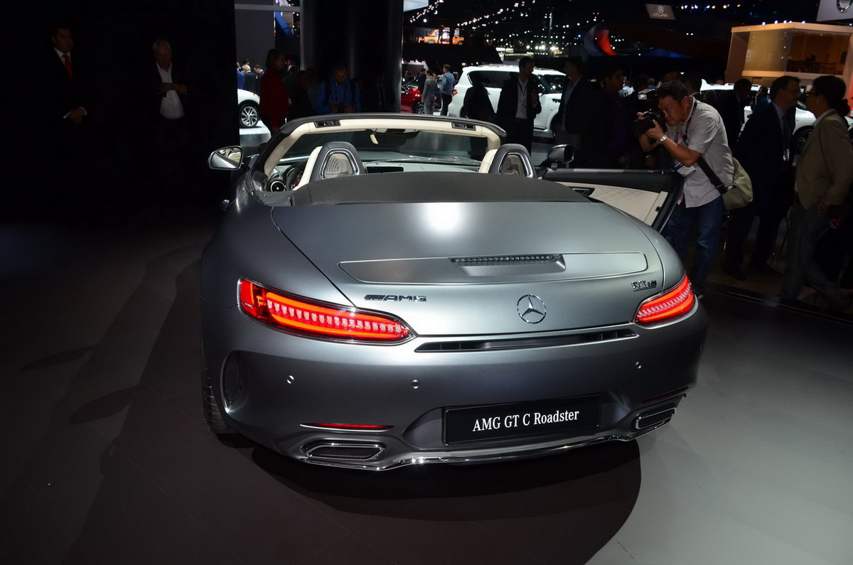 Perfect LA Auto Show 2016 Chim Ngng QuotMnh Thquot MercedesAMG