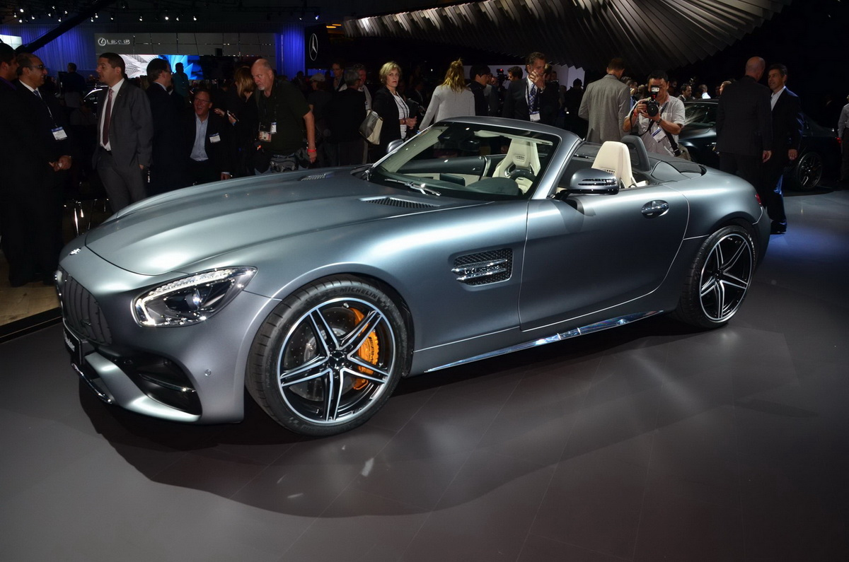 Amazing LA Auto Show 2016 Chim Ngng QuotMnh Thquot MercedesAMG