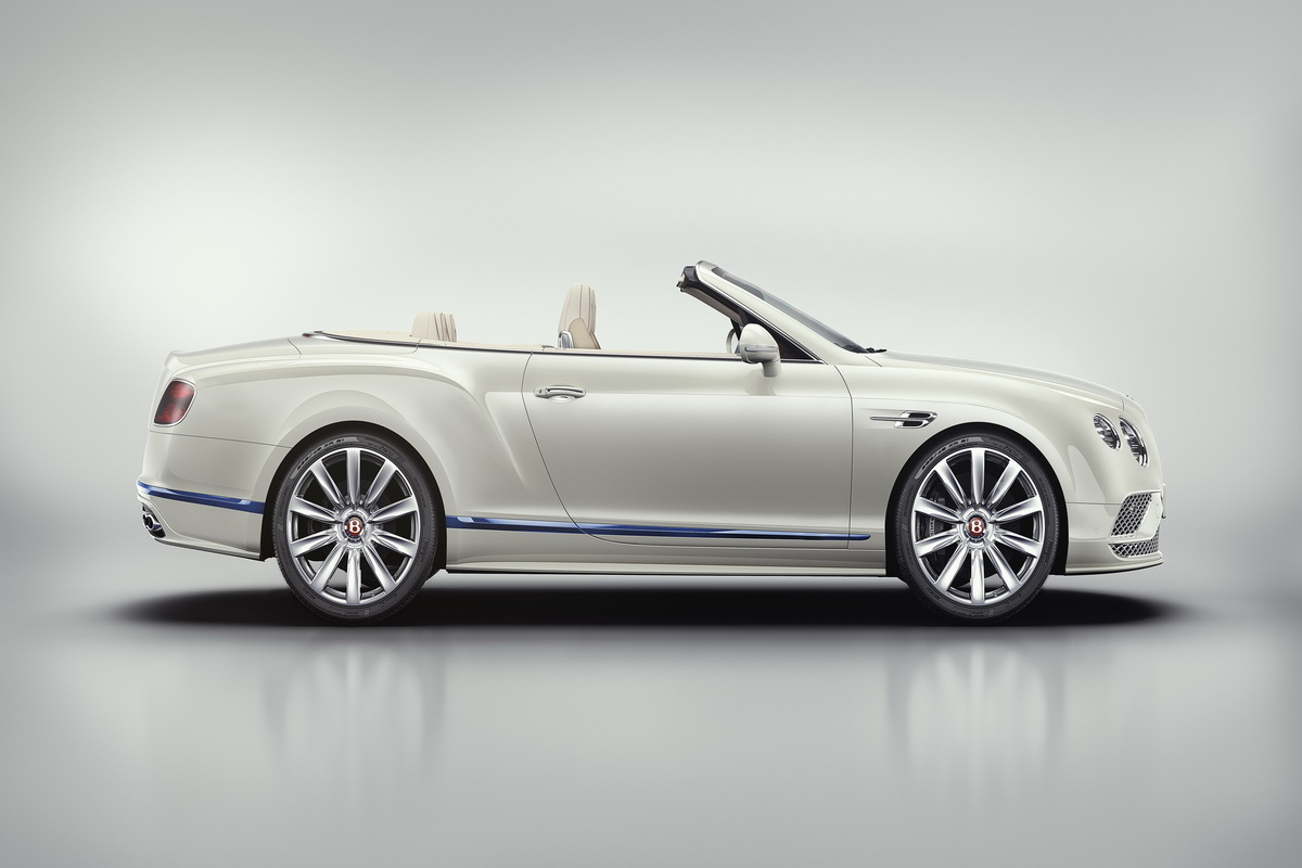 Bentley Continental GT Convertible phiên bản giới hạn Galene Edition by Mulliner