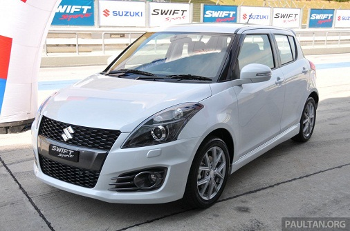 can-canh-suzuki-swift-sport-day-nang-dong